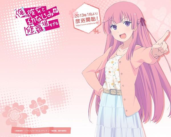 Tags: Anime, Ore no Kanojo to Osananajimi ga Shuraba Sugiru, Fuyuumi Ai, Official Art, Official Wallpaper, Wallpaper