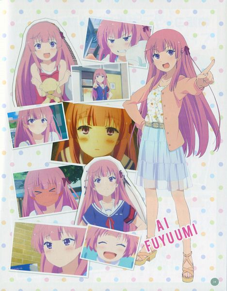 Tags: Anime, Ore no Kanojo to Osananajimi ga Shuraba Sugiru, Fuyuumi Ai, Official Art, Scan