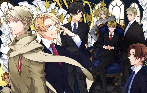 Tags: Anime, Litha, Axis Powers: Hetalia, Canada, Russia, United Kingdom, France, United States, Japan, Germany, North Italy, Fanart From Pixiv, Pixiv