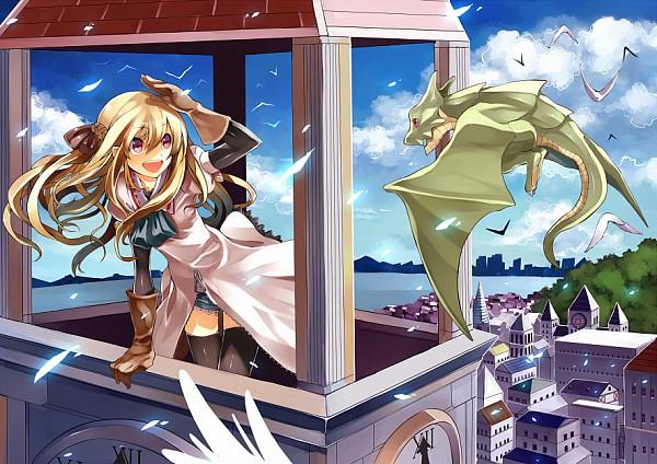 Tags: Anime, GAN (Shanimuni), Mini Dragon, V Bird, Original, Pixiv
