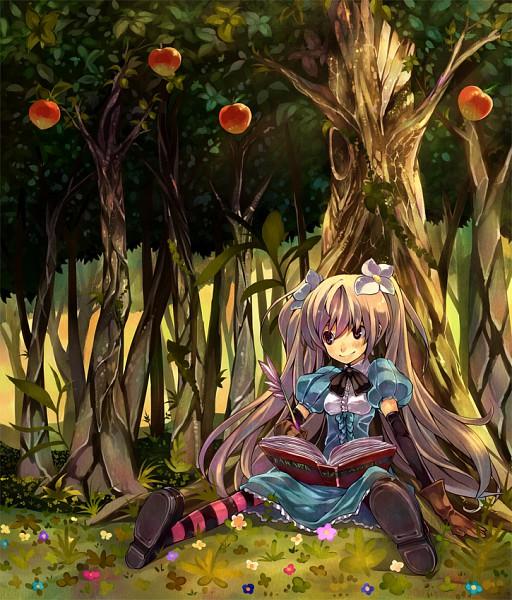 Tags: Anime, GAN (Shanimuni), Apple Tree, Pixiv