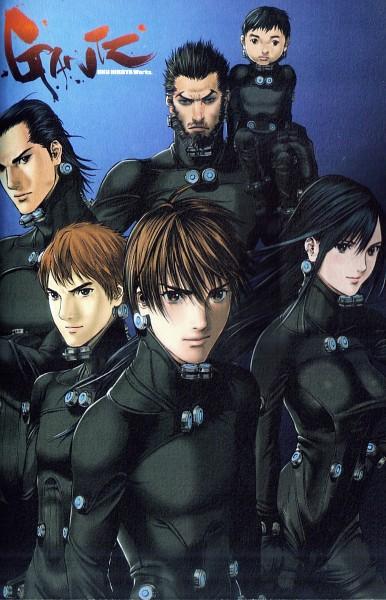 Tags: Anime, Oku Hiroya, GANTZ, Kurono Kei, Gantzsuit, Manga Page, Scan
