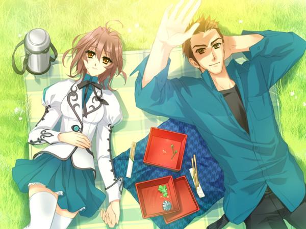 Tags: Anime, Kumoya Yukio, CARNELIAN, GARNET CRADLE, Sakurazawa Kiichirou, Amawashi Miku, CG Art