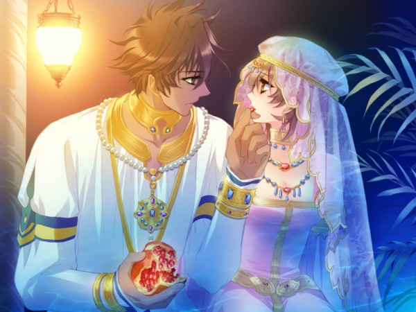 Tags: Anime, CARNELIAN, GARNET CRADLE, Saariya, Amawashi Miku, Pomegranate, CG Art