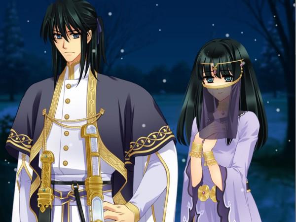 Tags: Anime, CARNELIAN, GARNET CRADLE, Shirato Tsubaki, Shirato Sou, CG Art