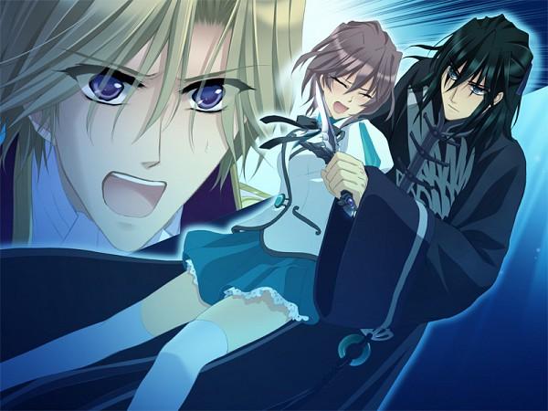 Tags: Anime, GARNET CRADLE, Sairenji Rihito, Shirato Sou, Amawashi Miku, CG Art