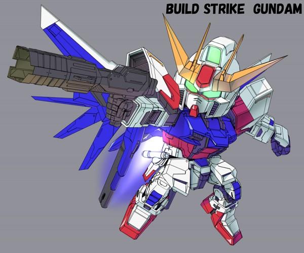 Tags: Anime, Raybar, Gundam Build Fighters, GAT-X105B/FP Build Strike Gundam Full Package, Pixiv, Fanart, Fanart From Pixiv