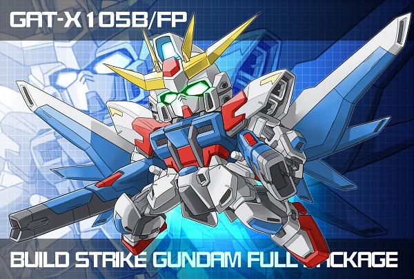Tags: Anime, Pixiv Id 861684, Gundam Build Fighters, GAT-X105B/FP Build Strike Gundam Full Package, Pixiv, Fanart, Fanart From Pixiv, PNG Conversion