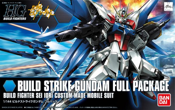 Tags: Anime, Gundam Build Fighters, GAT-X105B/FP Build Strike Gundam Full Package, Gundams