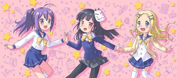 Tags: Anime, Aki (Akisora Hiyori), GJ-bu, Amatsuka Seira, Geraldine Bernstein, Shinomiya Kasumi, Gj Club