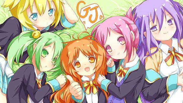 Tags: Anime, Cusozee, GJ-bu, Amatsuka Mao, Kannazuki Tamaki, Kirara Bernstein, Amatsuka Megumi, Sumeragi Shion, HD Wallpaper, Wallpaper, Gj Club