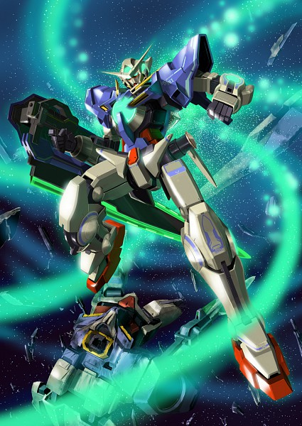 GN-001 Gundam Exia - Mobile Suit Gundam 00