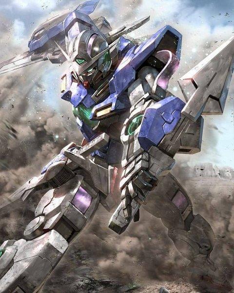 Tags: Anime, Morishita Naochika, Mobile Suit Gundam 00, GN-001 Gundam Exia, Gundams