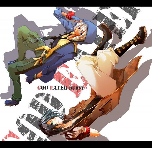 Tags: Anime, Pixiv Id 702785, GOD EATER, Amamiya Rindou, Soma Schicksal, Pixiv, Fanart, Gods Eater Burst