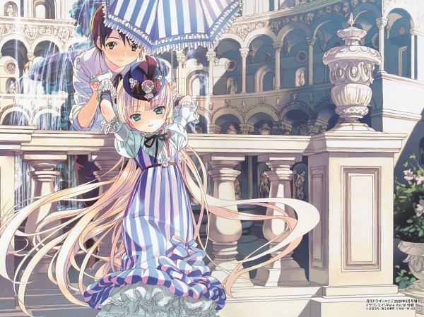 Tags: Anime, Takeda Hinata, GOSICK, Artworks By Takeda Hinata, Kazuya Kujo, Victorique de Blois