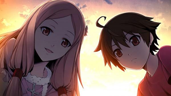 Tags: Anime, Chuuou Higashiguchi, Nitro+, GUILTY CROWN: Lost Christmas, Ouma Mana, Ouma Shu, Facebook Cover, CG Art