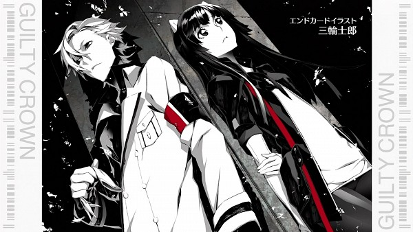 Tags: Anime, Miwa Shirow, GUILTY CROWN, Tsugumi (GUILTY CROWN), Daryl Yan, Facebook Cover, End Cards, GUILTY CROWN - End Cards, Wallpaper