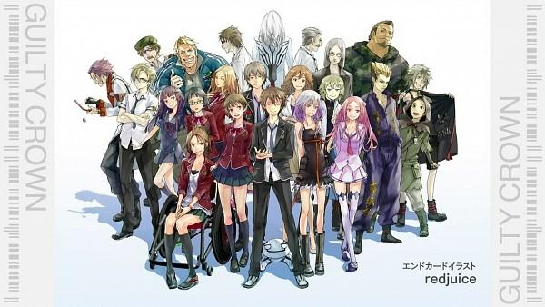 Tags: Anime, redjuice, GUILTY CROWN, Tsutsugami Gai, Arugo, Ouma Haruka, Tsugumi (GUILTY CROWN), Kuhouin Arisa, Kyou (Guilty Crown), Shibungi, Shinomiya Ayase, Samukawa Yahiro, Ouma Mana