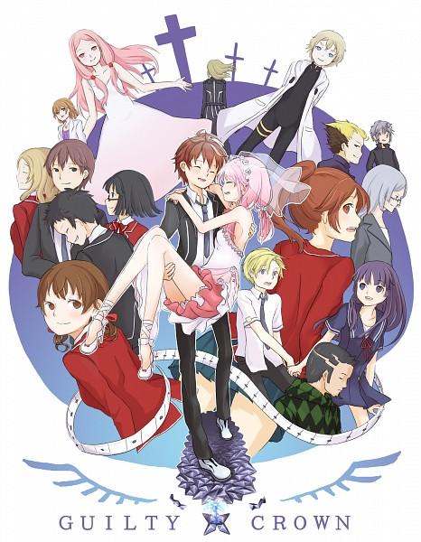 Tags: Anime, Pixiv Id 4178553, GUILTY CROWN, Yuzuriha Inori, Shibungi, Kusama Kanon, Yuu (Guilty Crown), Tsutsugami Gai, Oogumo, Tamadate Souta, Ouma Haruka, Tsugumi (GUILTY CROWN), Daryl Yan