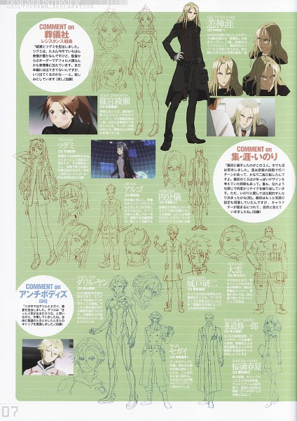 Tags: Anime, GUILTY CROWN, GUILTY CROWN Complete Book, Tsutsugami Gai, Shibungi, Tsugumi (GUILTY CROWN), Koudou Shuuichirou, Oogumo, Shinomiya Ayase, Ouma Haruka, Daryl Yan, Kido Kenji, Arugo