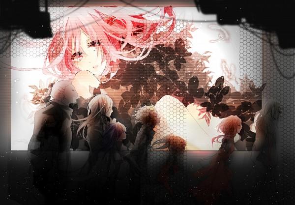 Tags: Anime, Pixiv Id 4341524, GUILTY CROWN, Shibungi, Tsugumi (GUILTY CROWN), Oogumo, Shinomiya Ayase, Yuzuriha Inori, Kido Kenji, Tsutsugami Gai, Pixiv, Funeral Parlor