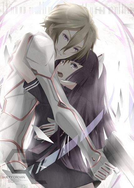 Tags: Anime, Pixiv Id 365780, GUILTY CROWN, Daryl Yan, Tsugumi (GUILTY CROWN), Pixiv, Fanart, Mobile Wallpaper, Fanart From Pixiv, PNG Conversion