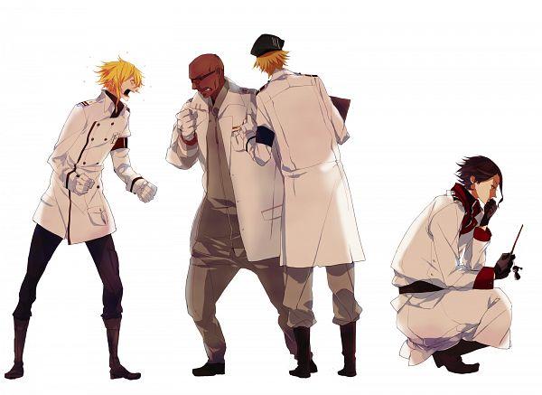 Tags: Anime, bambino, GUILTY CROWN, Rowan, Segai Waltz Makoto, Daryl Yan, Guin (GC), Key Chains, Pixiv, Fanart