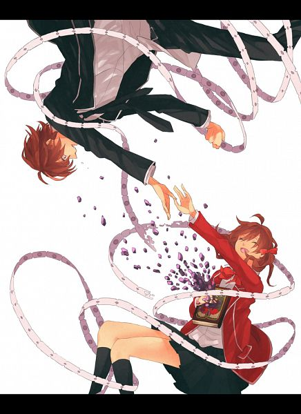 Tags: Anime, Gomi Chiri, GUILTY CROWN, Menjou Hare, Ouma Shu, Mobile Wallpaper