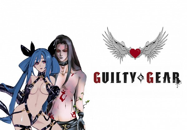 Tags: Anime, GUILTY GEAR, Testament, Dizzy (GUILTY GEAR), Skimpy, Latex, Wallpaper