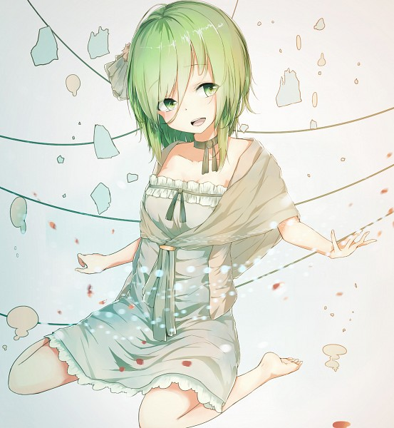Tags: Anime, La-na, VOCALOID, GUMI, Fanart, Fanart From Pixiv, Pixiv