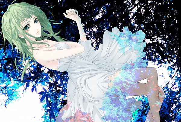 Tags: Anime, naoto (sandersoniahirahira), VOCALOID, GUMI, Yuyoyuppe, Reon