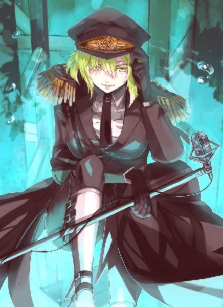 Tags: Anime, Hebi, VOCALOID, GUMI, Pixiv, Mobile Wallpaper, Fanart From Pixiv, Fanart