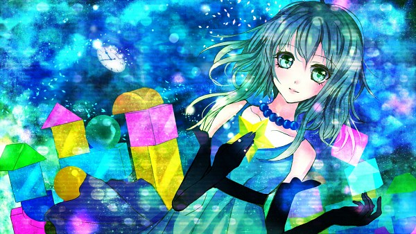 Tags: Anime, Pixiv Id 3117133, VOCALOID, GUMI, HD Wallpaper, Wallpaper