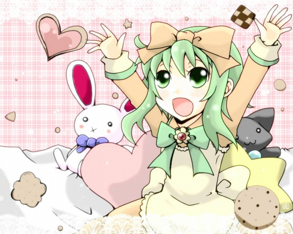 Tags: Anime, Ice23234, VOCALOID, GUMI, Fanart From Piapro, Fanart, Piapro Illustrated, Wallpaper