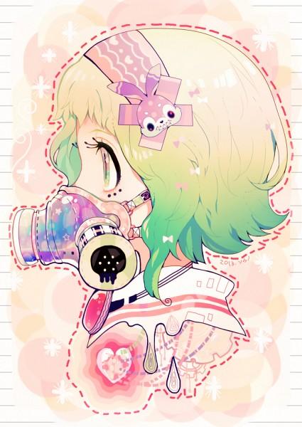 Tags: Anime, Souno Kazuki, VOCALOID, GUMI, Pixiv, Mobile Wallpaper