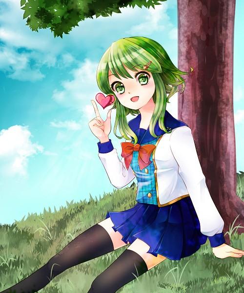 Tags: Anime, Pixiv Id 1273175, VOCALOID, GUMI, Fanart, Fanart From Pixiv, Pixiv