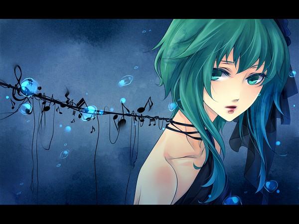 Tags: Anime, Natsuki0910, VOCALOID, GUMI, Fanart, Pixiv
