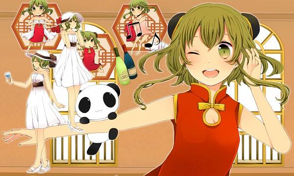 Tags: Anime, Komine, VOCALOID, GUMI, Pixiv, Wallpaper, Juu Mensou