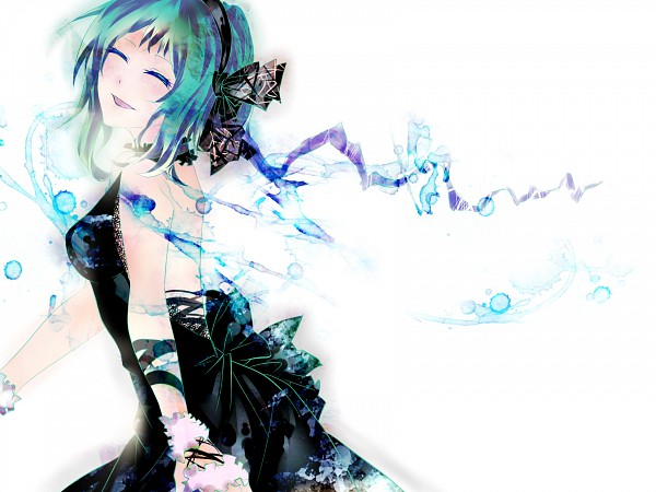 Tags: Anime, Tyouya, VOCALOID, GUMI, Pixiv, Wallpaper, Fanart From Pixiv, PNG Conversion, Fanart