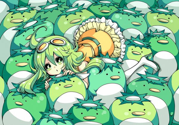 Tags: Anime, Ryuuguu Tsukasa, Kappa, Bright Colors