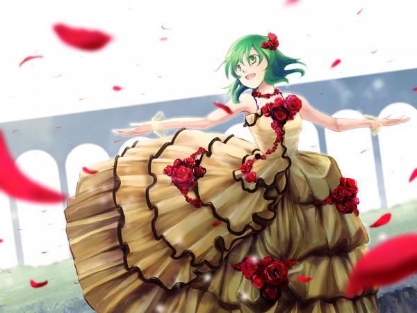 Tags: Anime, Kazashino (Pixiv413424), VOCALOID, GUMI, Fanart, Pixiv, Wallpaper