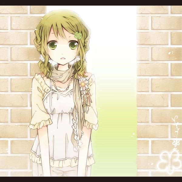 Tags: Anime, Kirakira0926k, VOCALOID, GUMI, Bright Colors, Stylized
