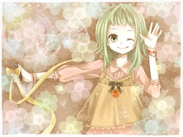 Tags: Anime, Mitsuka, VOCALOID, GUMI