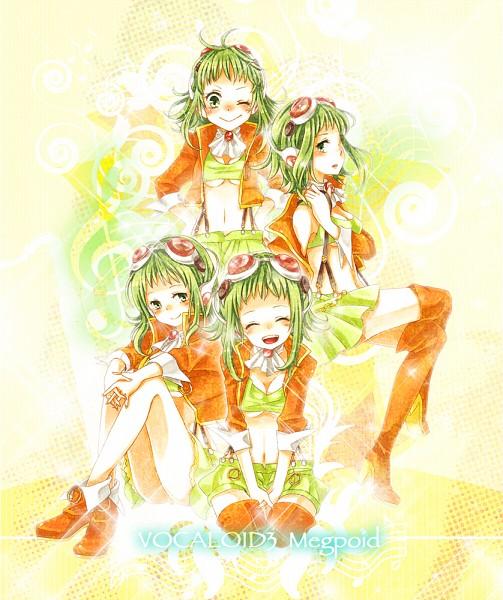 Tags: Anime, Mitsuka, VOCALOID, GUMI, Juu Mensou