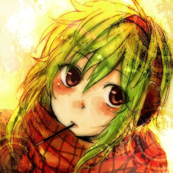 Tags: Anime, Pixiv Id 1142869, VOCALOID, GUMI, Fanart, Pixiv