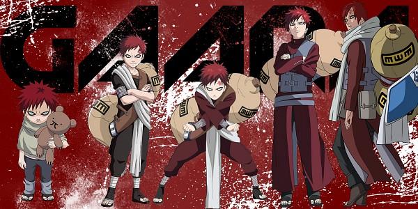 Tags: Anime, NARUTO, Gaara, 2:1 Ratio, Age Progression, Facebook Cover, Jinchuuriki