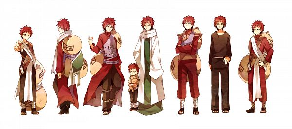 Tags: Anime, Pixiv Id 3920549, NARUTO, Gaara, Brown Shirt, Age Progression, No Eyebrows, Gourd, Fanart From Pixiv, Pixiv, Facebook Cover, Fanart, Jinchuuriki