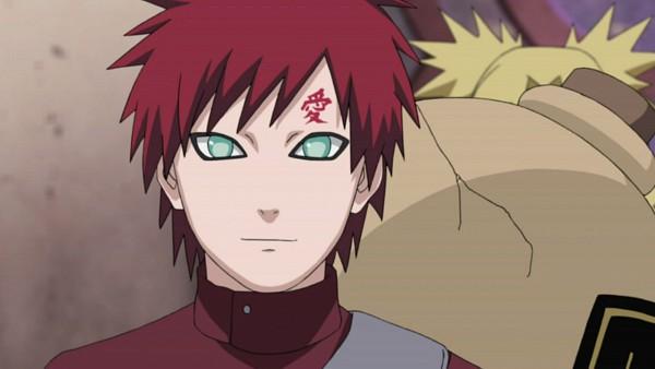 Tags: Anime, NARUTO, Gaara, Screenshot, Jinchuuriki