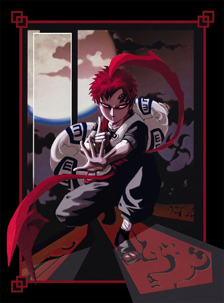 Tags: Anime, Pixiv Id 2846450, NARUTO, Gaara, Jinchuuriki