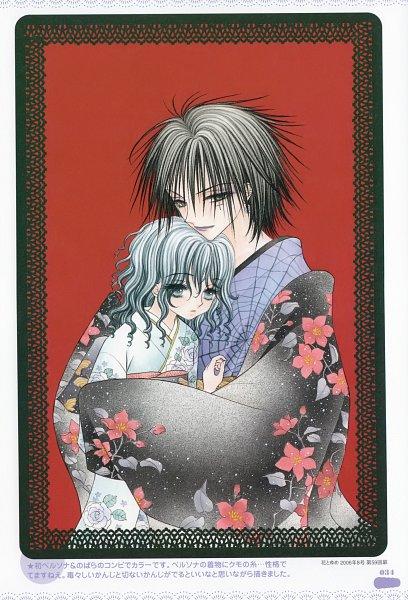 Tags: Anime, Higuchi Tachibana, Gakuen Alice, Ibaragi Nobara, Persona (Gakuen Alice), Scan, Official Art